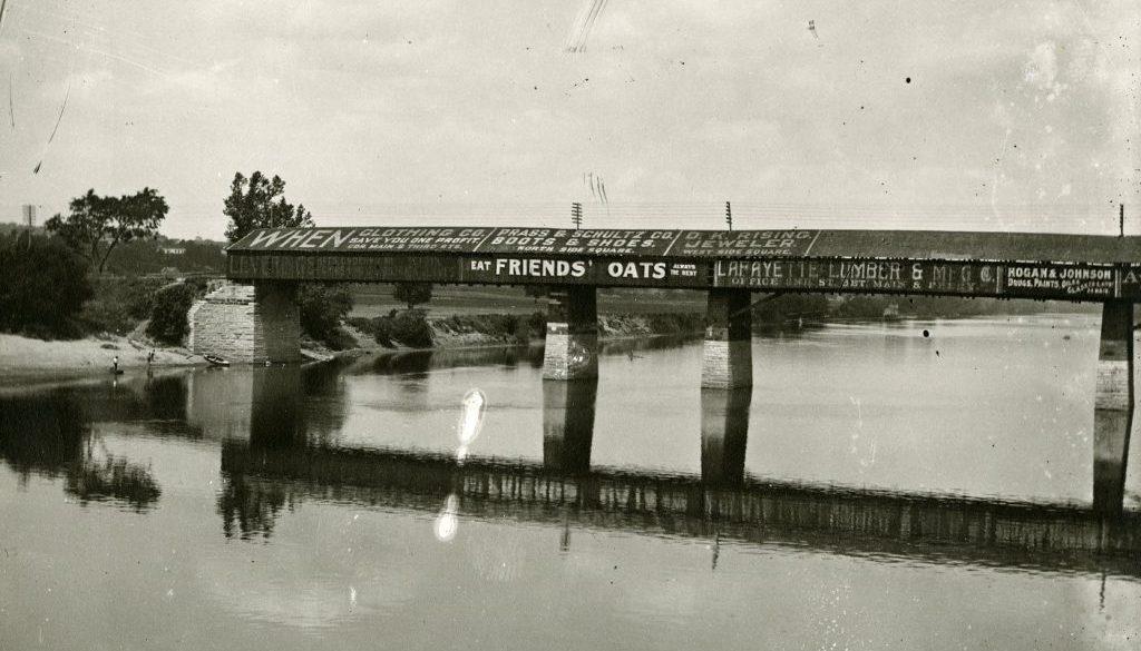 Brown Street Bridge, Covered